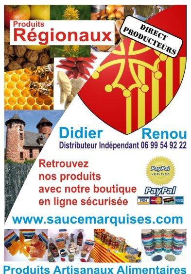Vente en ligne des produits r gionaux sauce marquises for Vente en ligne jardinerie